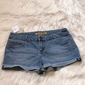 Celebrity Pink Medium Wash Denim Jean Shorts | 9